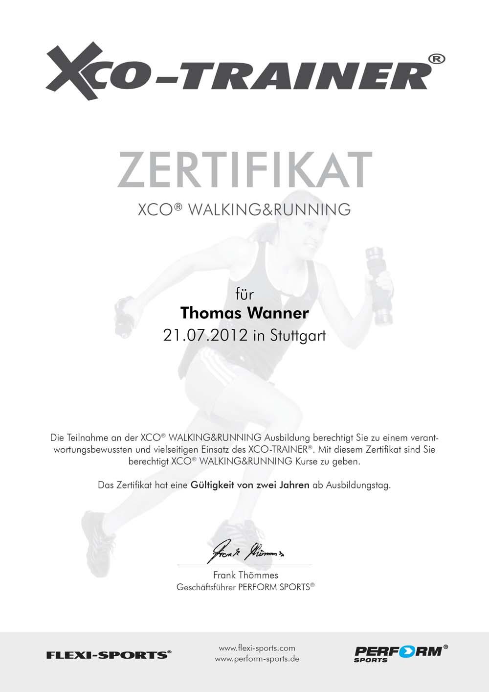 XCO-zertifikat