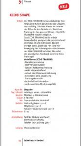 XCO-shape-kurs-gmünder sport-spass