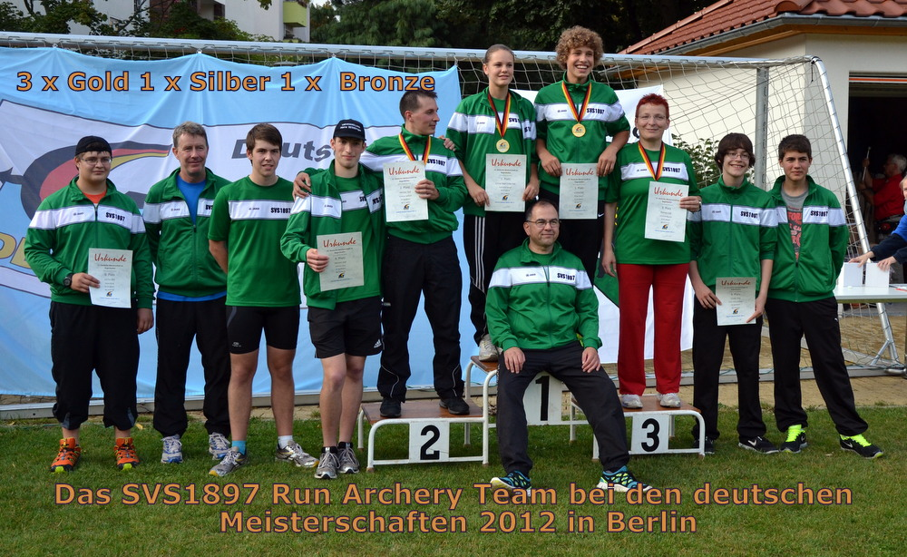 Das SVS1897 Run Archery-Team