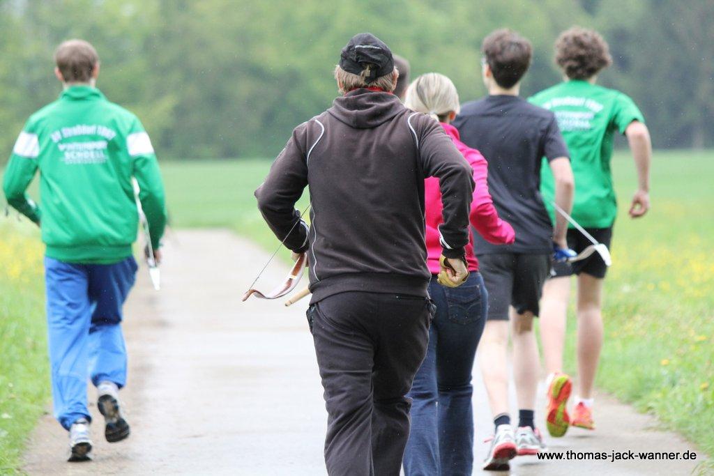 Offenes Training Bogenlaufen