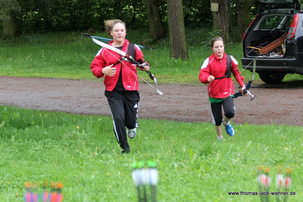 Bogenlaufen Run Archery