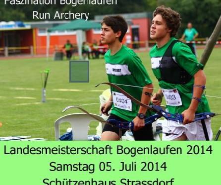 Landesmeisterschaft Bogenlaufen 2014