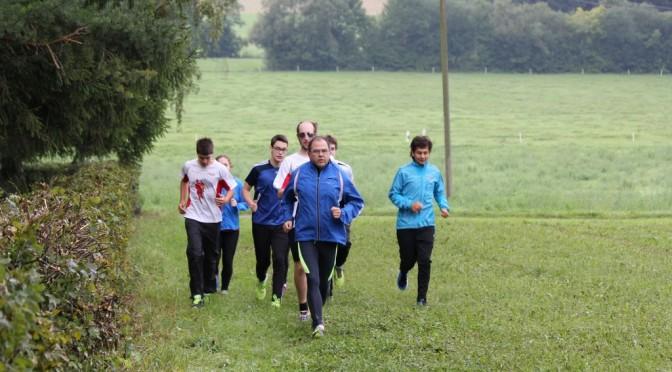 Trainingscamp zur Vorbereitung der deutschen Meisterschaften Bogenlaufen