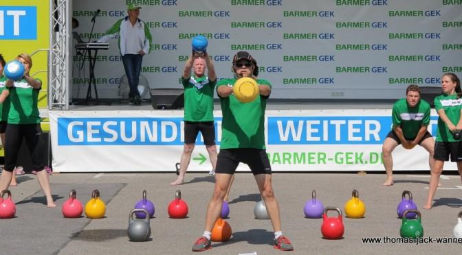Mit der BARMER GEK beim VFB Stuttgart