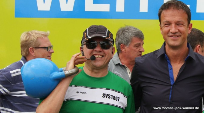 Trainer Thomas Wanner mit VFB-Sportdirektor Fredi Bobic