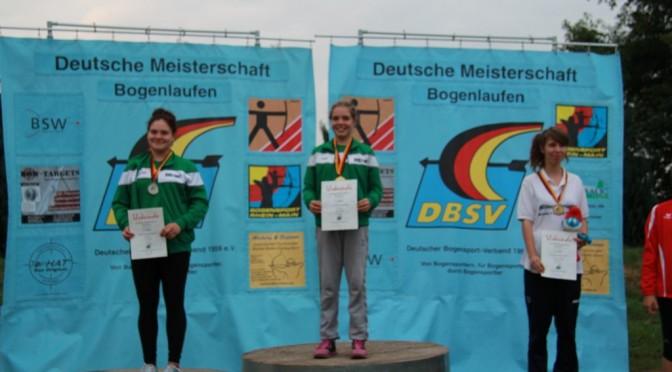 Elf Medaillen bei den deutschen Meisterschaften im  Bogenlaufen #DMBL14
