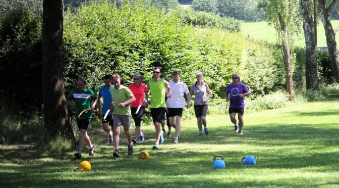 Sportlehrertag mit Bogenlaufen