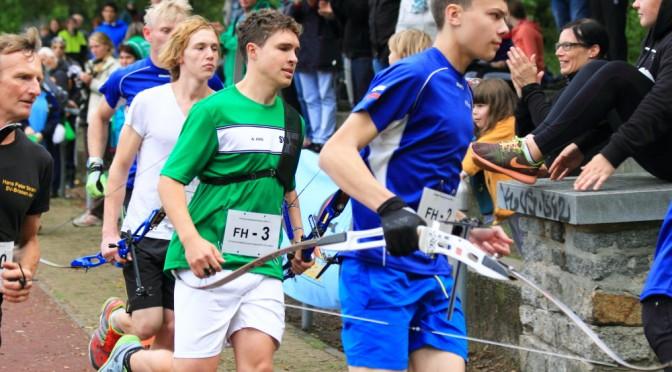 21 Medaillen bei den deutschen Meisterschaften im Bogenlaufen
