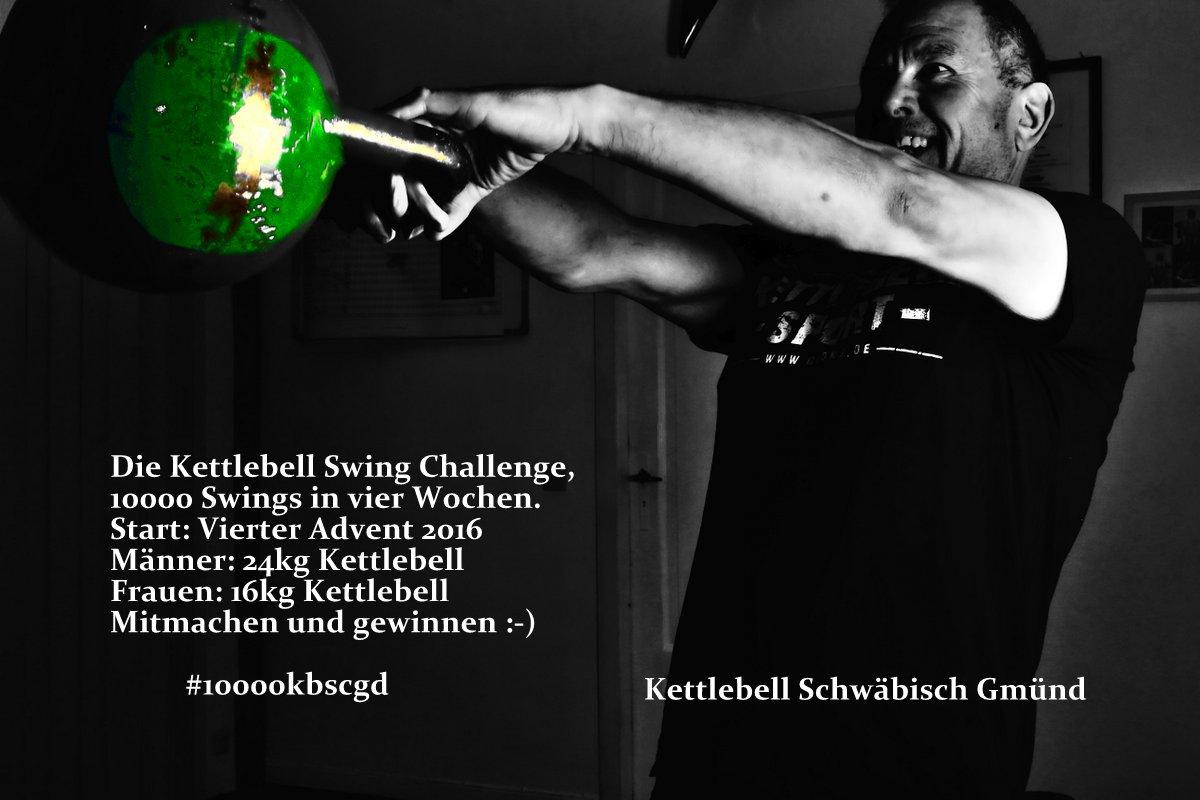 Die 10000 Kettlebell Swing Challenge Kettlebell