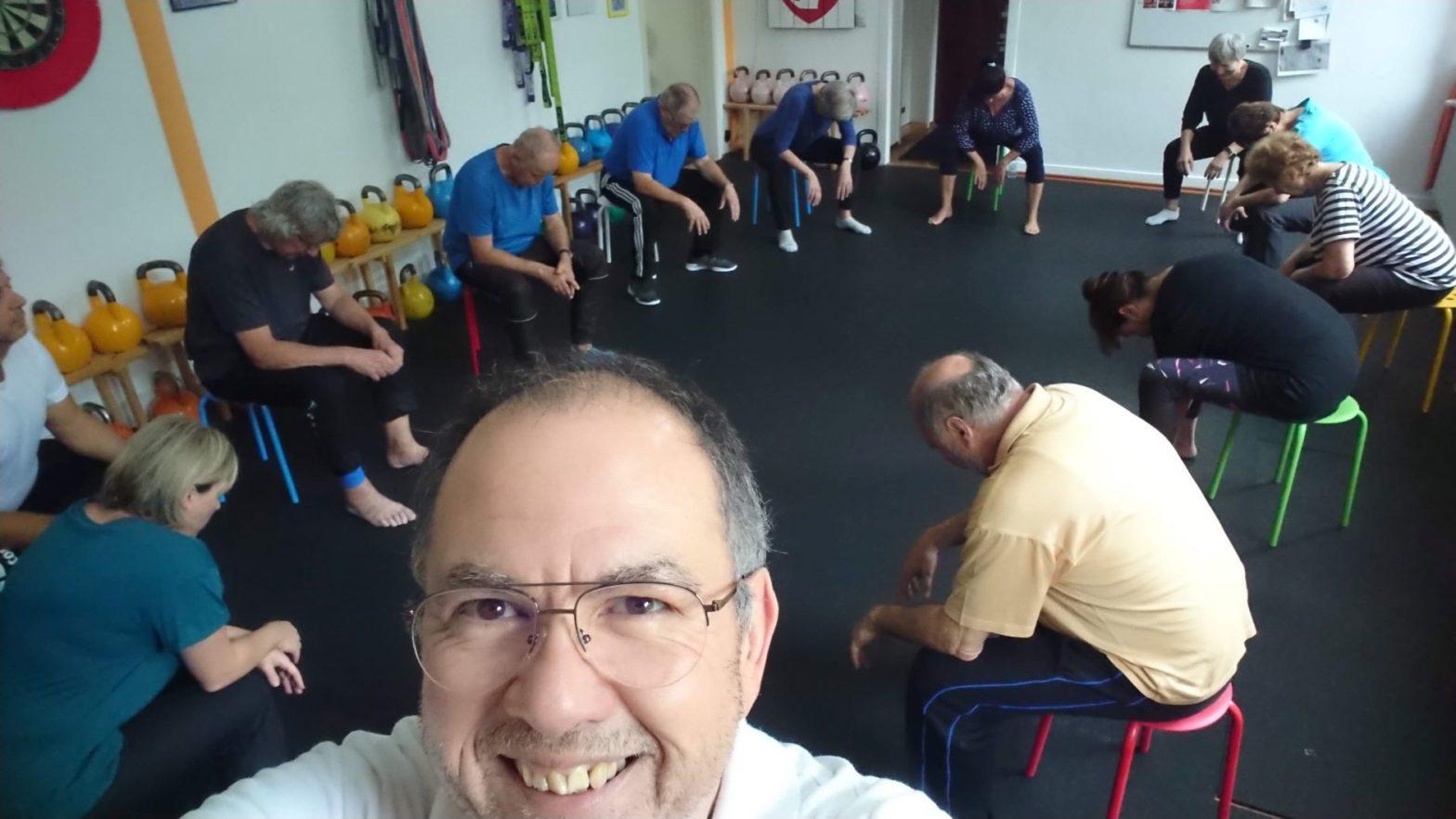 hockergymnastik-rehasport