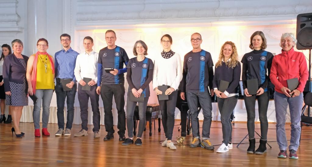 Kultusministerium ehrt baden-württembergische Gewinnerinnen und Gewinner der Welt- und Europameisterschaften 2018/2019 in den Seniorenklassen