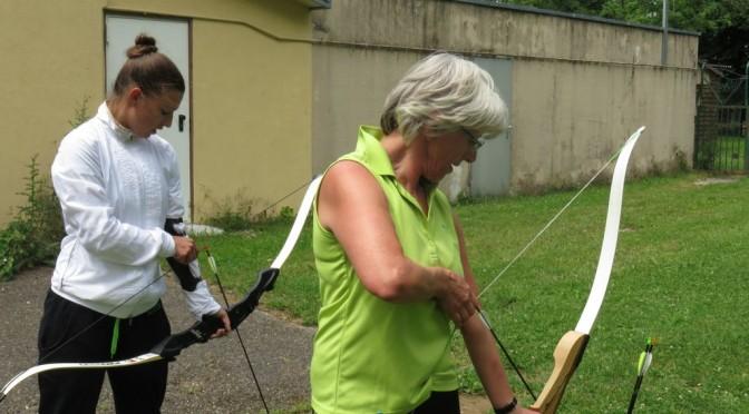 Run Archery Bogenlaufen Workshop für Sportlehrer