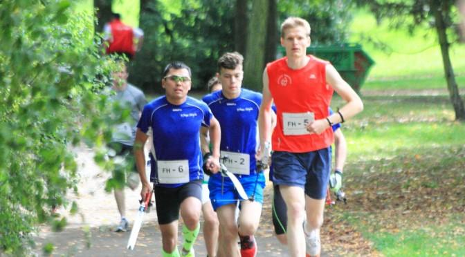Fotos von den deutschen Meisterschaften Bogenlaufen 2015