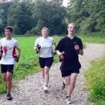 XCO-Running auf der Finnenbahn