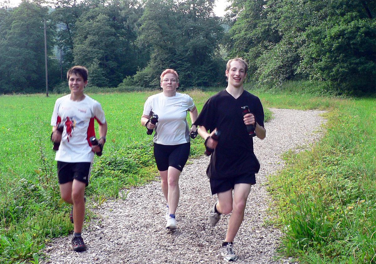 XCO-Walking auf der Finnenbahn