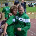 Mit Philipp Baur, deutscher Meister U14