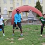 Athletiktraining Gemeinschaftsunterkunft
