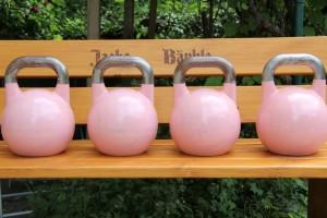 Kettlebell 8 kg Damen Barbie rosa
