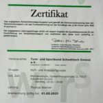 Rehasport zertifika