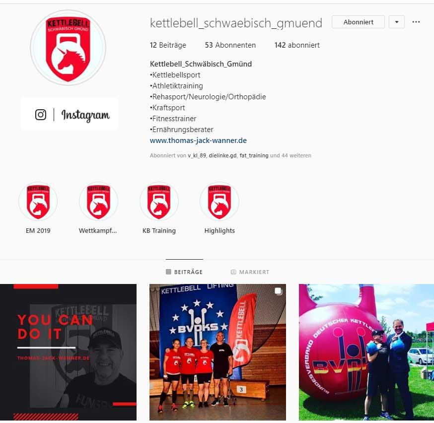 Kettlebell Schwäbisch Gmünd on Instagram
