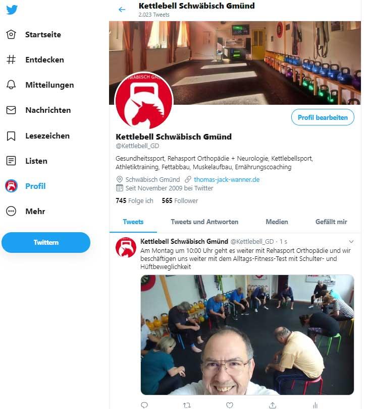 Kettlebell Schwäbisch Gmünd  onTwitter