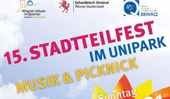 Stadteilfest unipark