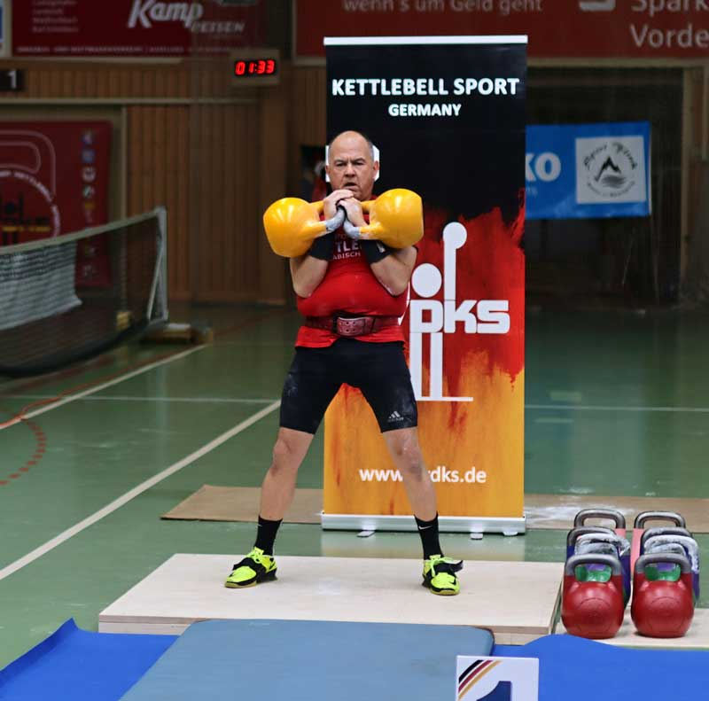Deutsche Meisterschaft 2021 Kettlebell Sport Teilnehmer Schwaebisch Gmuend Thomas Jack Wanner, Chrissi Wanner, Daniela Kuhn