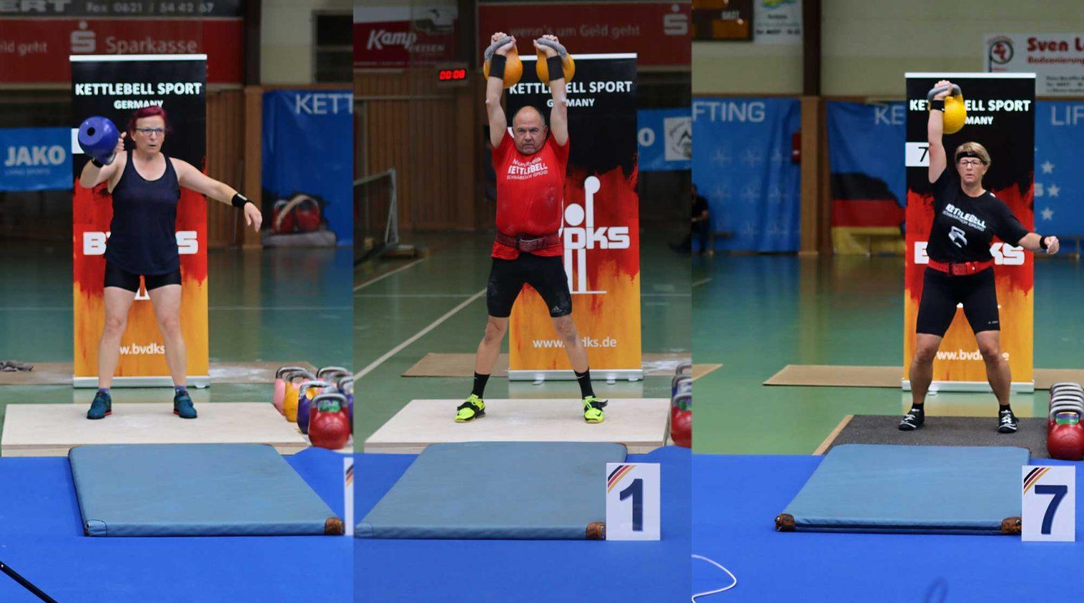 Deutsche Meisterschaft 21 Kettlbell Sport